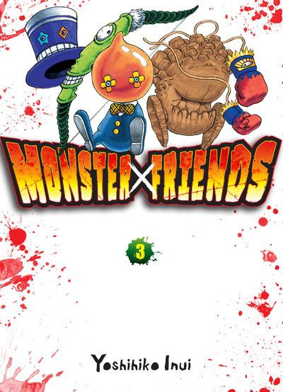 Couverture Monster friends tome 3