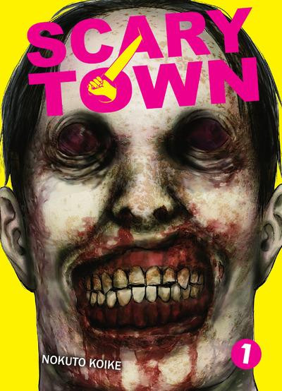 Couverture Scary town tome 1