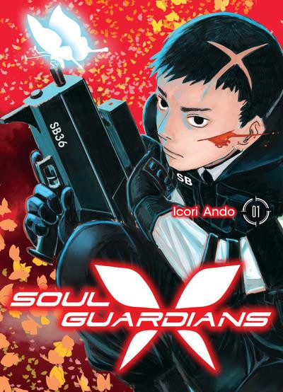 Couverture Soul guardians tome 1