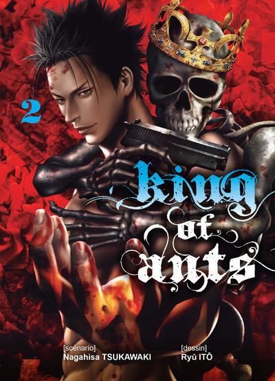 Couverture King of ants tome 2