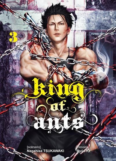 Couverture King of ants tome 3