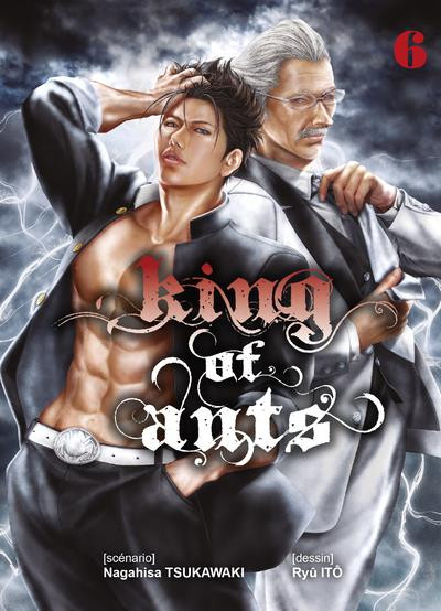 Couverture King of ants tome 6