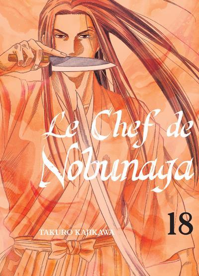 Couverture Le chef de Nobunaga tome 18