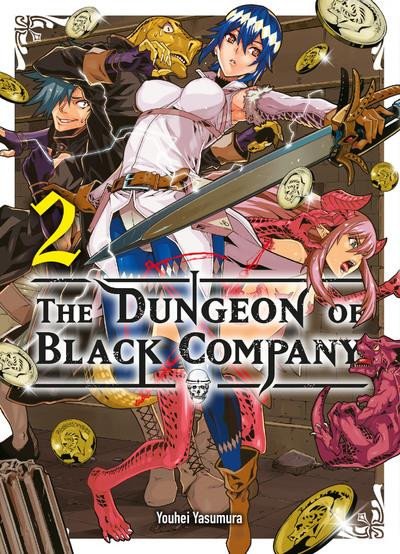 Couverture The dungeon of black company tome 2