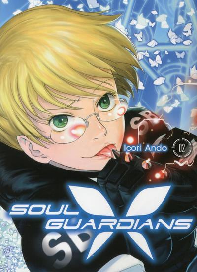 Couverture Soul guardians tome 2