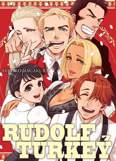 Couverture Rudolf Turkey tome 7