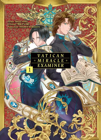 Couverture Vatican miracle examiner tome 1