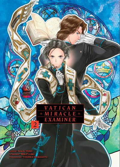 Couverture Vatican miracle examiner tome 2