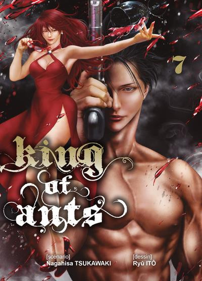 Couverture King of ants tome 7