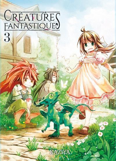 Couverture Créatures fantastiques tome 3
