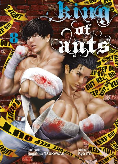 Couverture King of ants tome 8