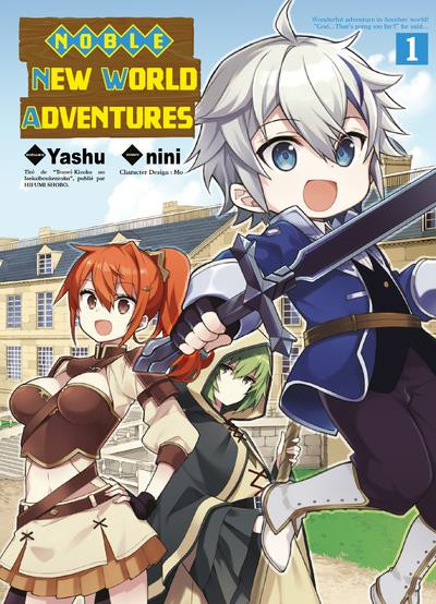 Couverture Noble new world adventures tome 1