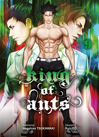 Couverture King of ants tome 9
