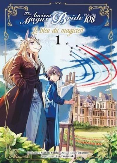 Couverture The ancient magus bride - Psaume 108 le bleu du magicien tome 1