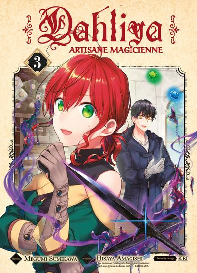Couverture Dahliya - artisane magicienne tome 3