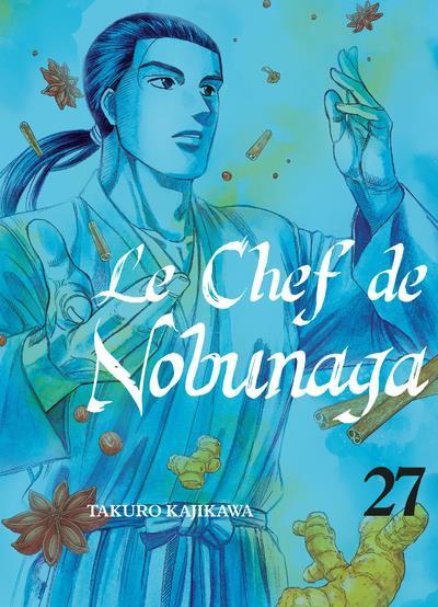 Couverture Le chef de Nobunaga tome 27