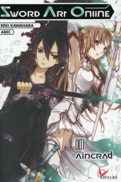 Couverture Sword art online - roman