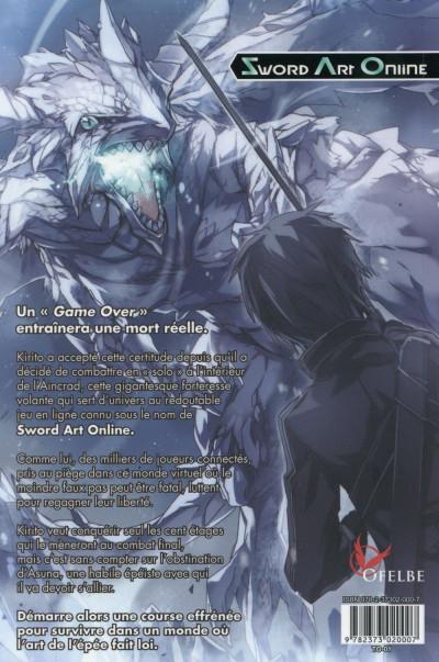 Dos Sword art online - roman