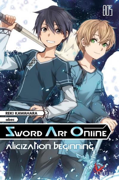 Couverture Sword art online - roman tome 5