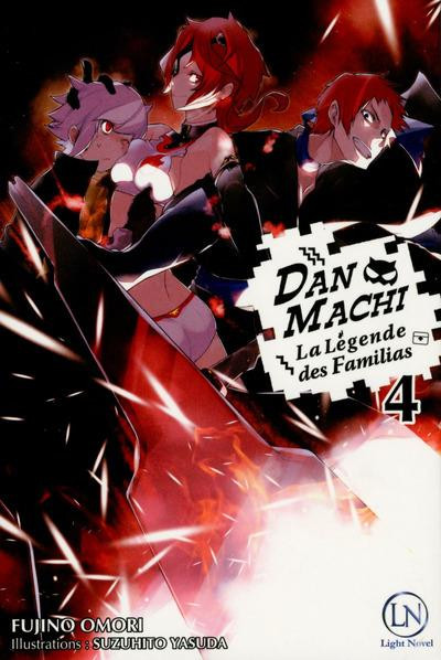Couverture Danmachi - roman tome 4