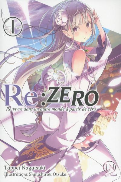Couverture Re : Zero - roman tome 1