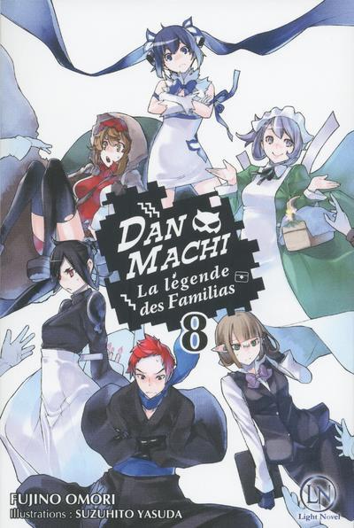 Couverture DanMachi - roman tome 8