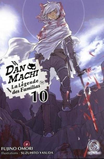 Couverture Danmachi - roman tome 10