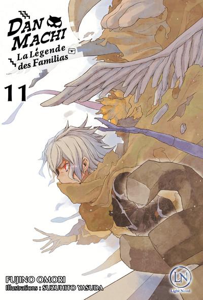 Couverture DanMachi - roman tome 11