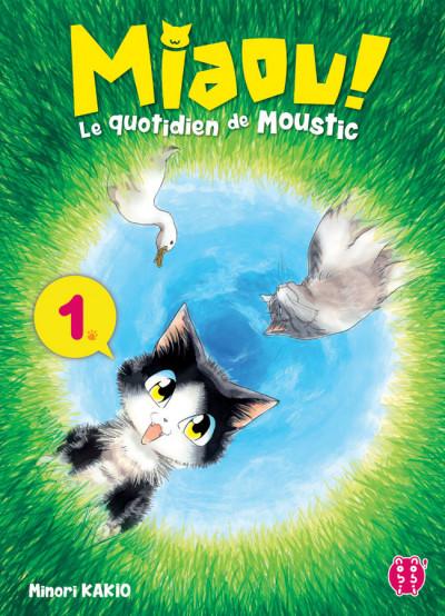Couverture Miaou ! Le quotidien de Moustic tome 1