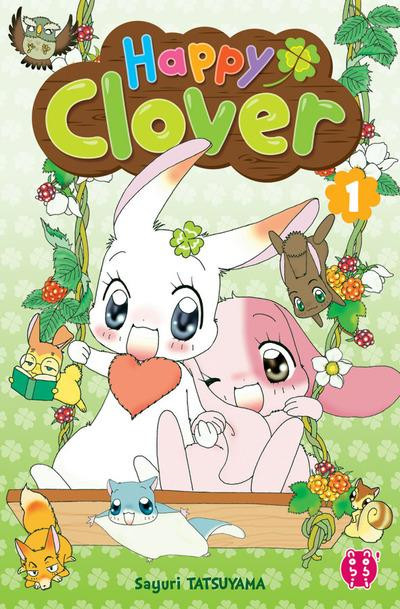 Couverture Happy clover tome 1