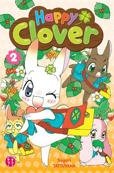 Couverture Happy clover tome 2