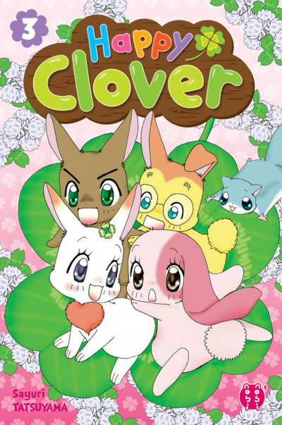Couverture Happy clover tome 3