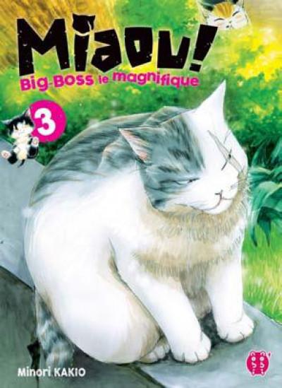 Couverture Miaou ! Big-Boss le magnifique tome 3
