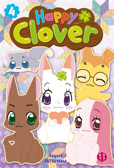 Couverture Happy clover tome 4