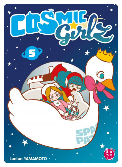 Couverture Cosmic girlz tome 5