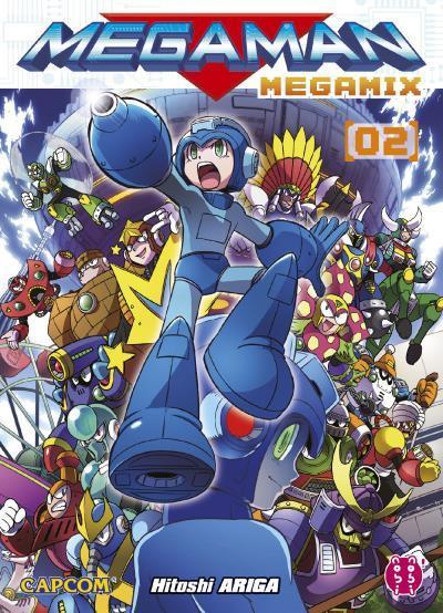 Couverture Megaman Megamix tome 2