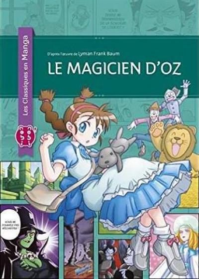 Couverture Le magicien d'Oz