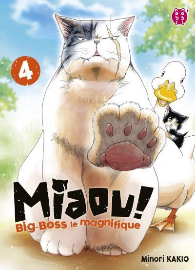 Couverture Miaou ! Big-Boss le magnifique tome 4