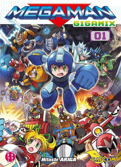 Couverture Megaman gigamix tome 1