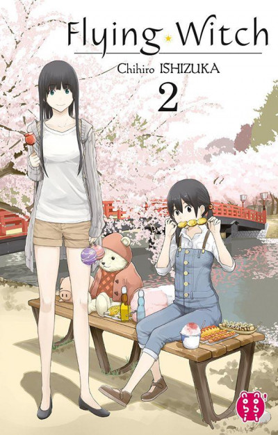 Couverture Flying witch tome 2