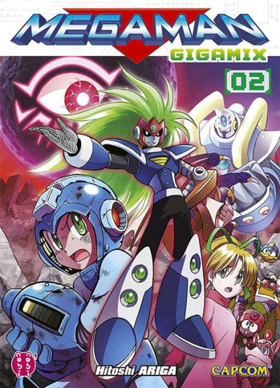 Couverture Megaman gigamix tome 2