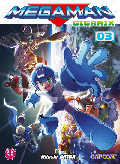 Couverture Megaman gigamix tome 3