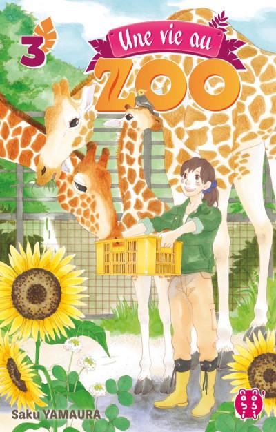 Couverture Une vie au zoo tome 3