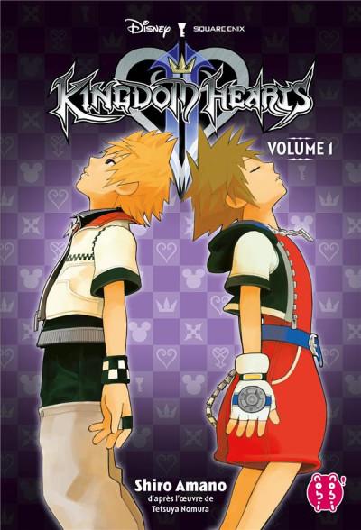 Couverture Kingdom hearts II - intégrale tome 1