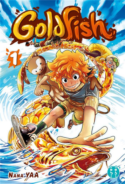 Couverture Goldfish tome 1