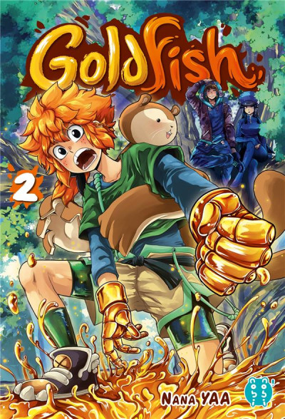 Couverture Goldfish tome 2