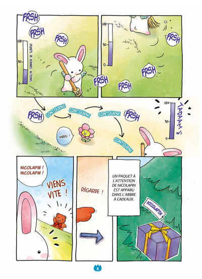 Page 8 Les pounipounis tome 1