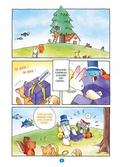 Page 9 Les pounipounis tome 1