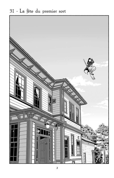 Page 4 Flying witch tome 6