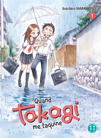 Couverture Quand Takagi me taquine tome 1